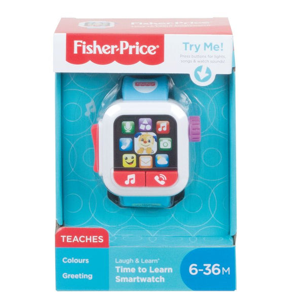FISHER PRICE LAUGH & LEARN TIME TO LEARN SMARTWATCH
