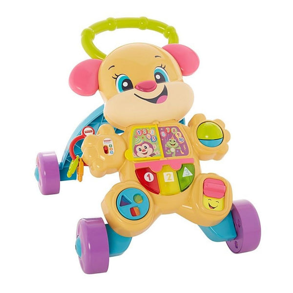 FISHER PRICE LAUGH & LEARN LEARN WITH PUPPY WALKER GIRL