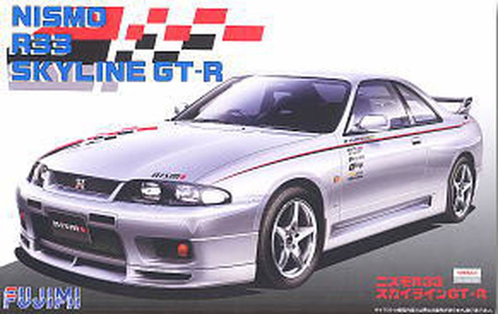Fujimi Nismo R33 Skyline GT R Model - Toyworld