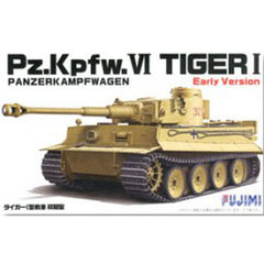 Fujimi German: Pzkpfw Vi Tiger I Early Version Model Kit - Toyworld
