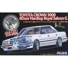 Fujimi Toyota Crown 3000 4 Door Hardtop Royal Saloon G with Motor Kitset Model - Toyworld