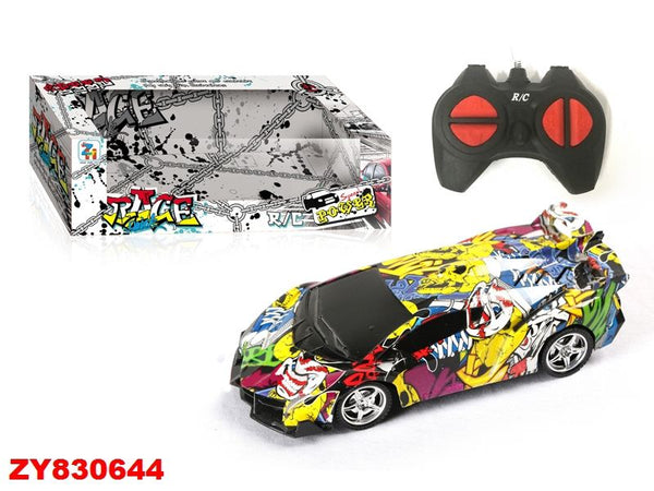 GRAFFITI RC CAR