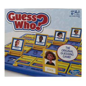 Guess Who the Original Guessing Game - Toyworld
