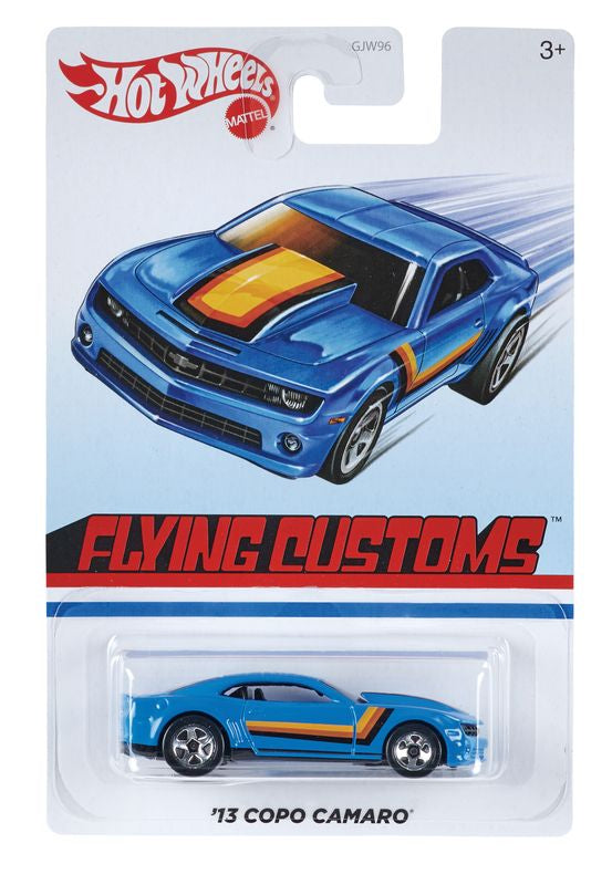 HOT WHEELS TARGET THROWBACK FLYING CUSTOMS '13 COPO CAMARO