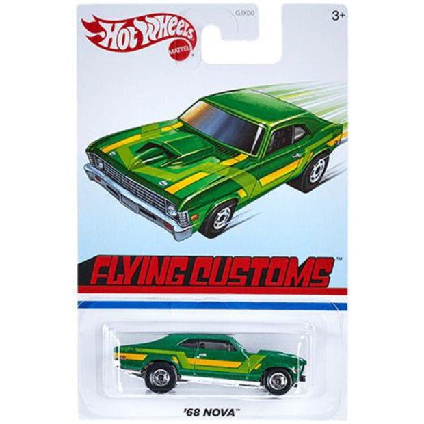 HOT WHEELS TARGET THROWBACK FLYING CUSTOMS '68 NOVA