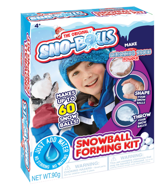 INSTANT AMAZING SNOW POWDER SNOWBALL FORMING KIT