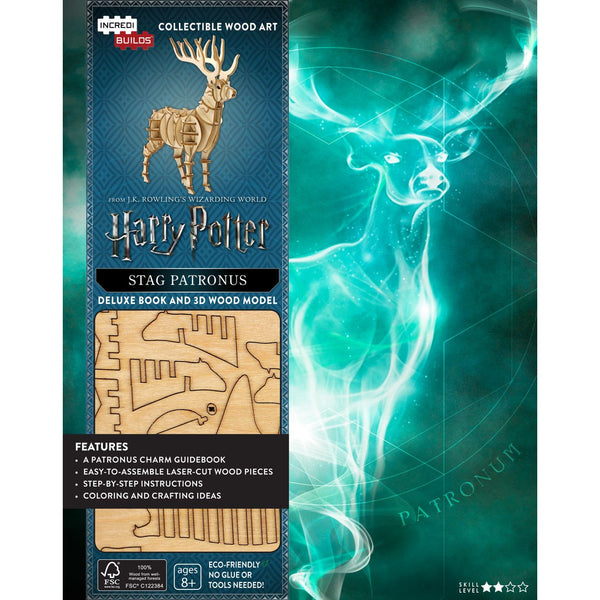 INCREDIBUILDS 3D WOODEN MODEL HARRY POTTER STAG PATRONUS