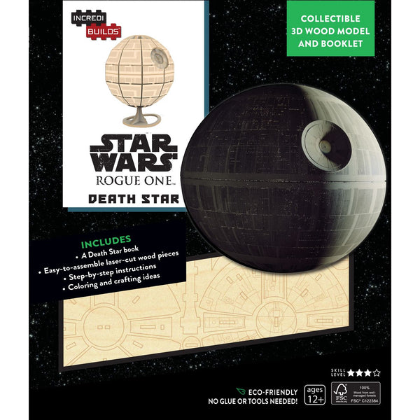 INCREDIBUILDS 3D WOODEN MODEL STAR WARS ROGUE ONE: DEATH STAR