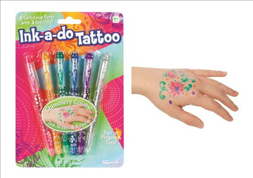 Ink a Do Tattoo Pens - Toyworld