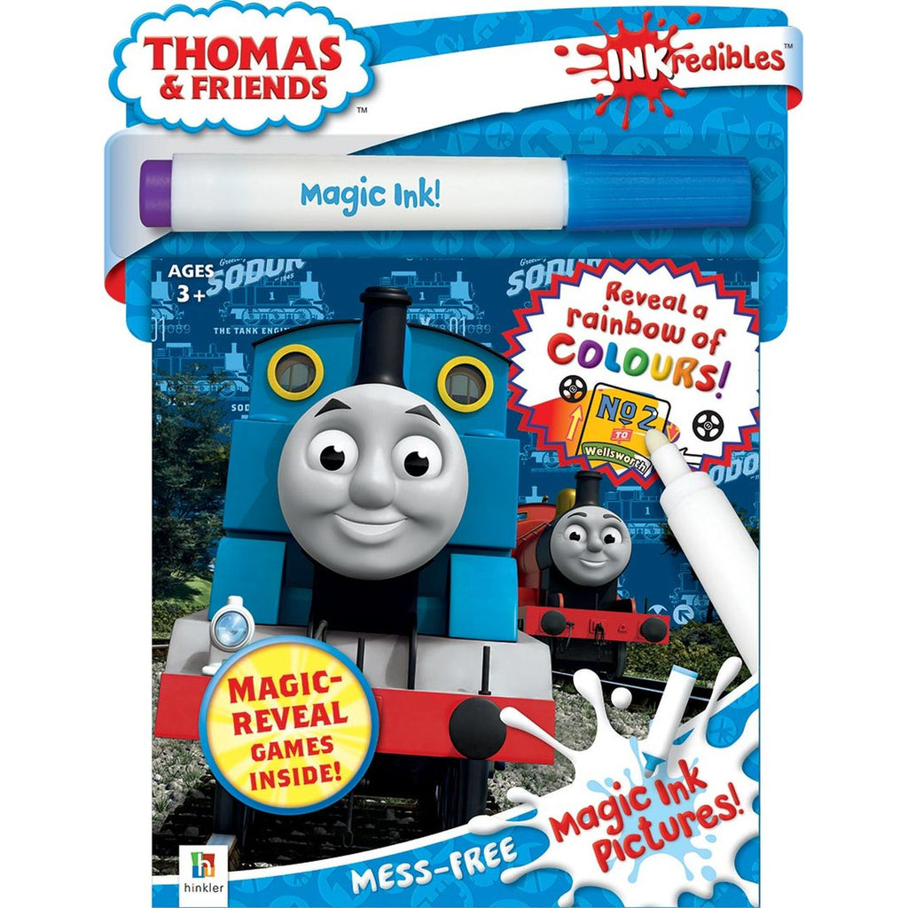 INKREDIBLES THOMAS & FRIENDS MAGIC INK PICTURES