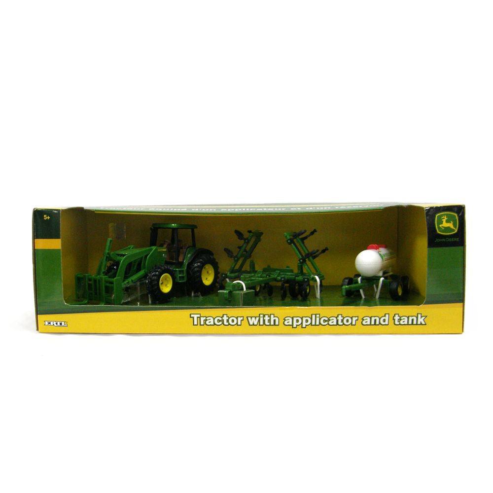 John Deere 8530 Tractor W/forklift Ammonia Tank and Applicator - Toyworld
