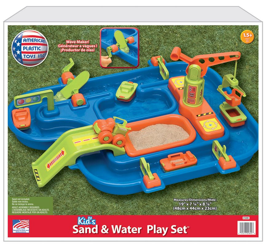 KID'S SAND & WATER PLAY SET