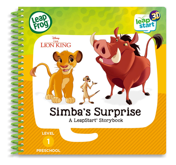 Leapfrog Leapstart 3d Disney the Lion King Simba's Surprise Activity Book - Toyworld