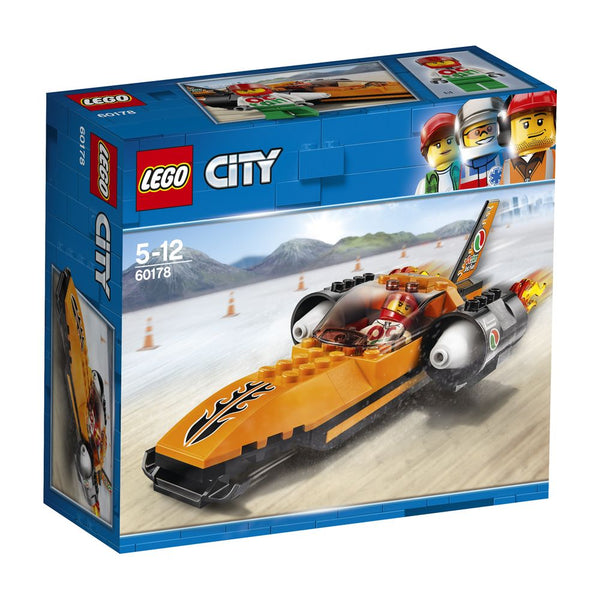 LEGO 60178 CITY SPEED RECORD CAR