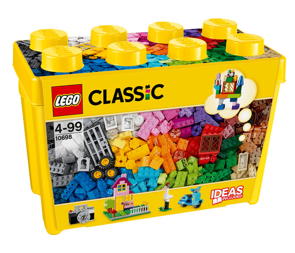LEGO 10698 CLASSIC LARGE CREATIVE BRICK BOX 790PC V29