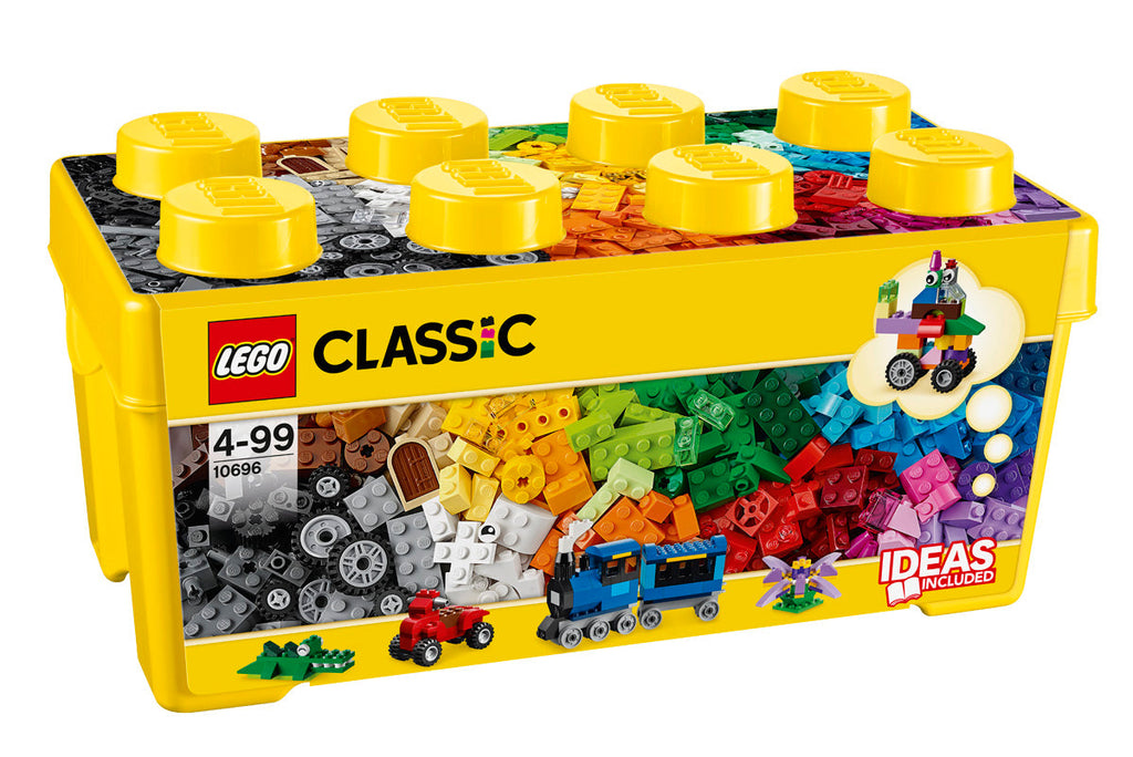LEGO 10696 CLASSIC MEDIUM CREATIVE BRICK BOX 484PC V29
