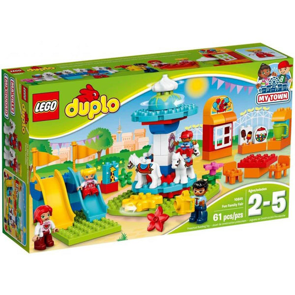 Lego Duplo My Town Fun Family Fair - Toyworld