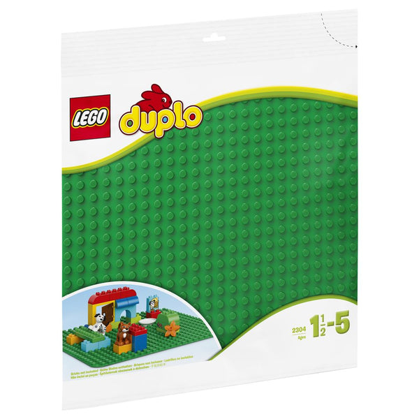 Lego Duplo Large Green Building Plate - Toyworld