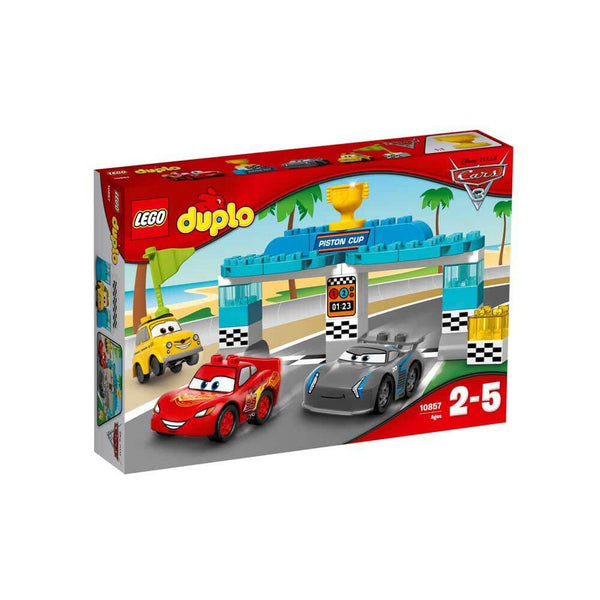 Lego Duplo Disney Cars 3 Piston Cup Race - Toyworld