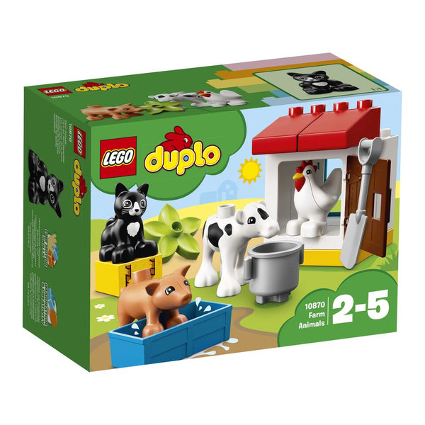 Lego Duplo Farm Animals - Toyworld