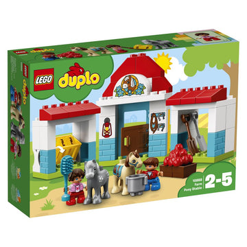 Lego Duplo Farm Pony Stable - Toyworld