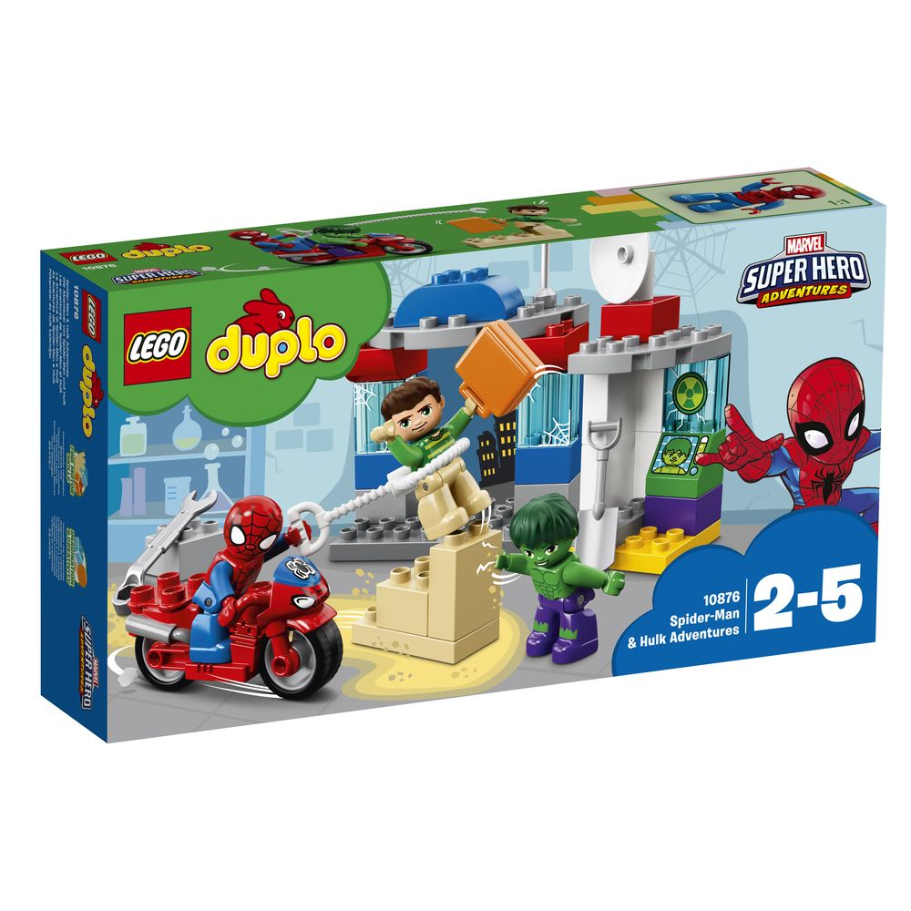 Lego Duplo Spider Man & Hulk Adventures - Toyworld