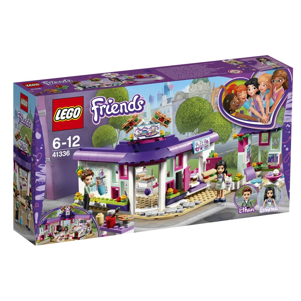 Lego Friends Emma's Art Cafe - Toyworld