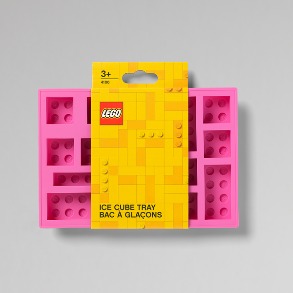 LEGO ICE CUBE TRAY PINK