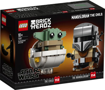 Lego Brick Headz Star Wars the Mandalorian & the Child - Toyworld