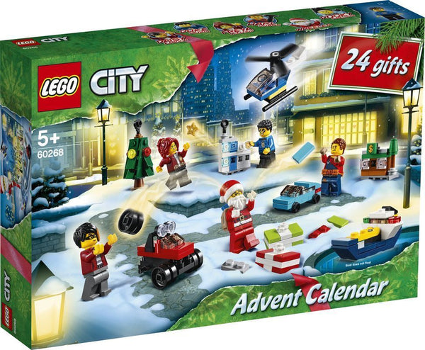 LEGO 60268 CITY ADVENT CALENDAR 2020