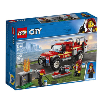 Lego City Fire Chief Response Truck - Toyworld