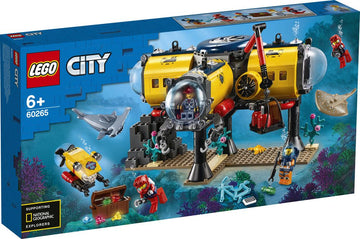 Lego City Ocean Exploration Base - Toyworld