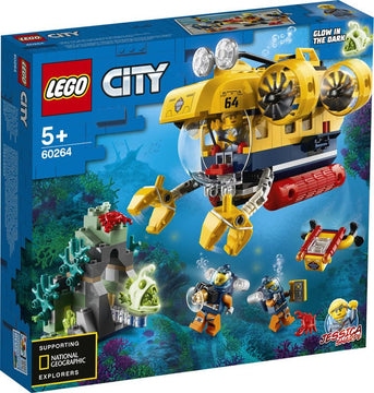 Lego City Ocean Exploration Submarine - Toyworld