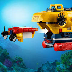 Lego City Ocean Exploration Submarine Img 4 - Toyworld