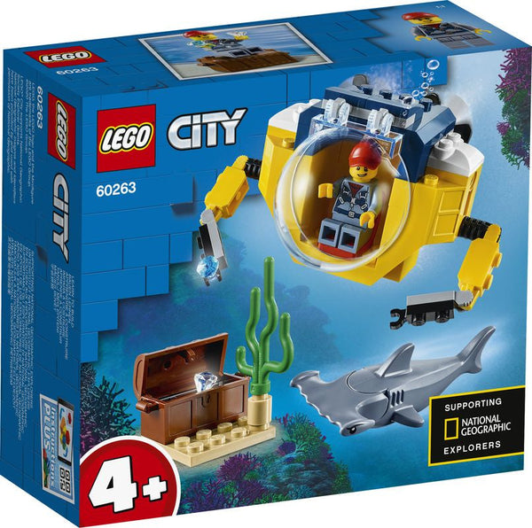 Lego City Ocean Mini Submarine - Toyworld