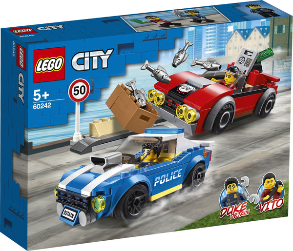 Lego City Police Highway Arrest - Toyworld