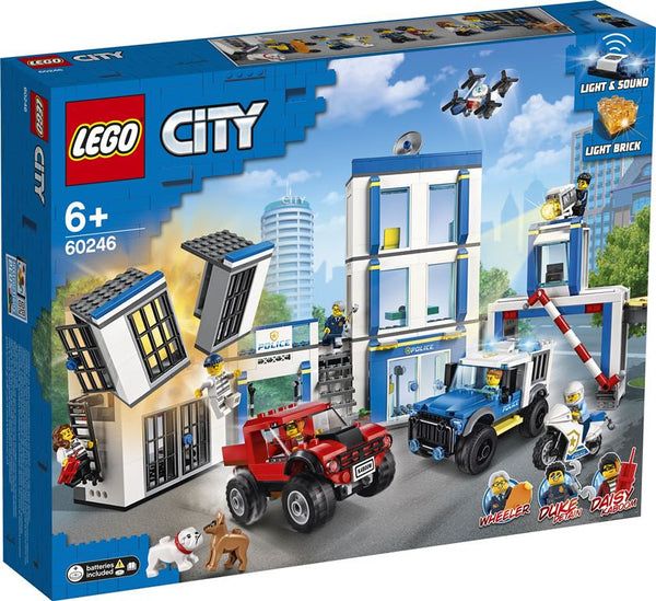Lego City Police Station - Toyworld