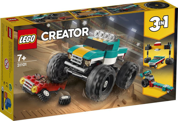 Lego Creator Monster Truck - Toyworld