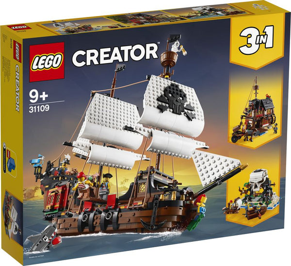 Lego Creator Pirate Ship - Toyworld