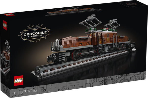 LEGO 10277 CREATOR CROCODILE LOCOMOTIVE