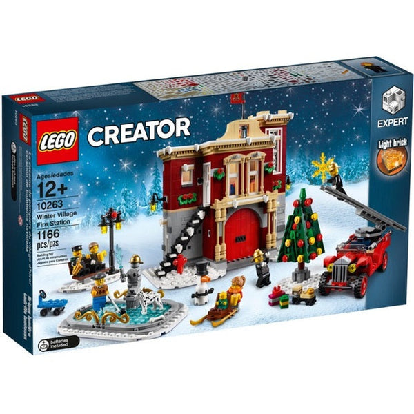 LEGO 10263 CREATOR WINTER VILLAGE FIRE STATION