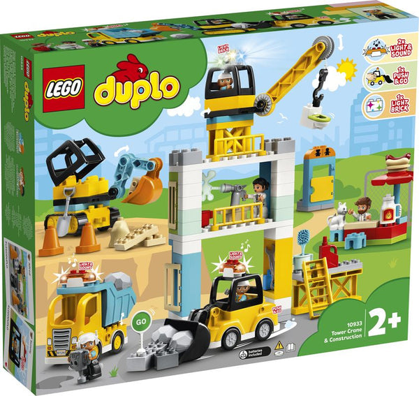 Lego Duplo Tower Crane & Construction - Toyworld