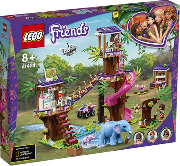 Lego Friends Jungle Rescue Base - Toyworld