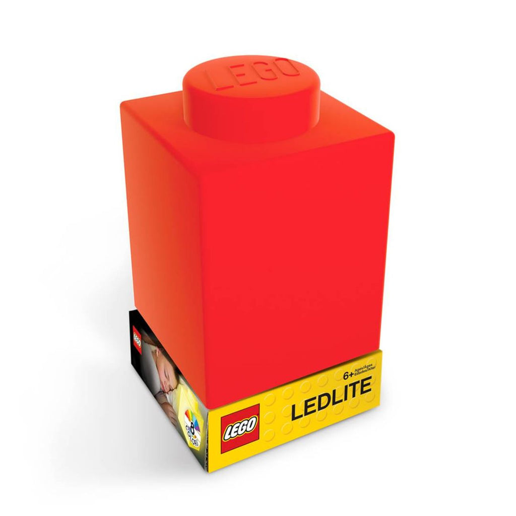 Lego Silicone Nitelite Brick Red - Toyworld