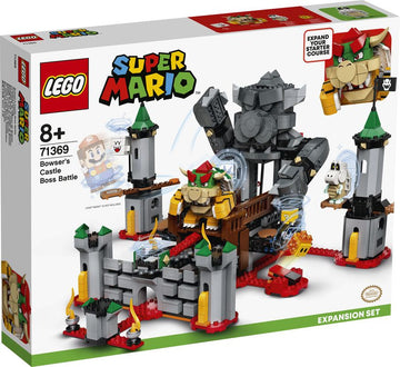 Lego Super Mario Bowser's Castle Boss Battle Expansion Set - Toyworld