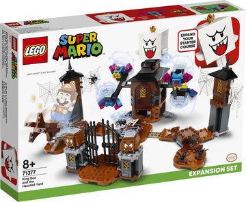 Lego Super Mario King Boo and the Haunted Yard Expansion Set - Toyworld