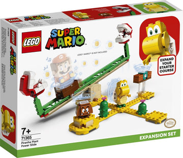 Lego Super Mario Piranha Plant Power Slide Expansion Set - Toyworld
