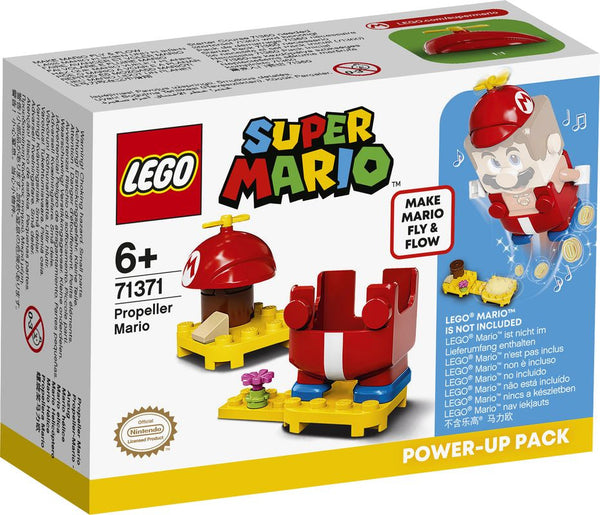 Lego Super Mario Propeller Mario Power Up Pack - Toyworld