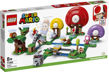 Lego Super Mario Toad's Treasure Hunt Expansion Set - Toyworld