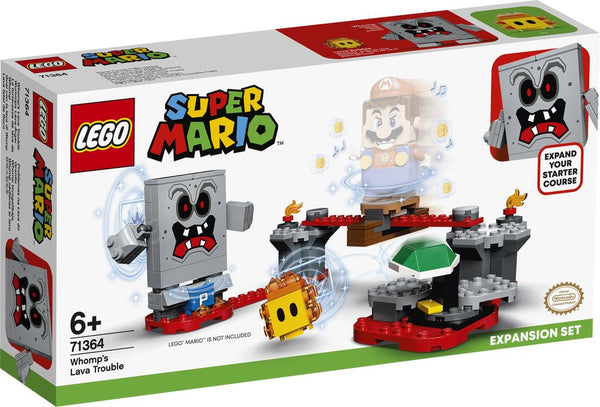 Lego Super Mario Whomp's Lava Trouble Expansion Set - Toyworld